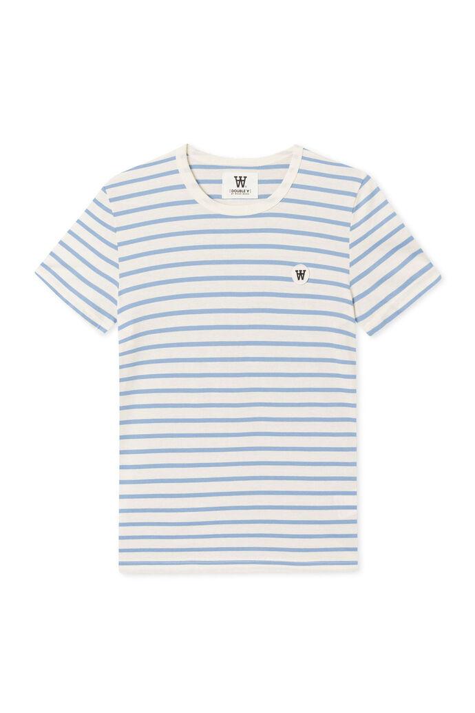 Uma t-shirt 10212510-2222, BLUE STRIPES