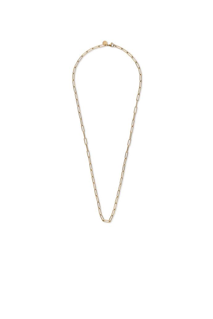 Ryan box necklace, GULD