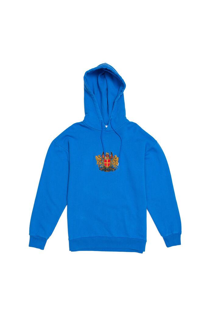 Artwork hoodie M-130067, BLUE