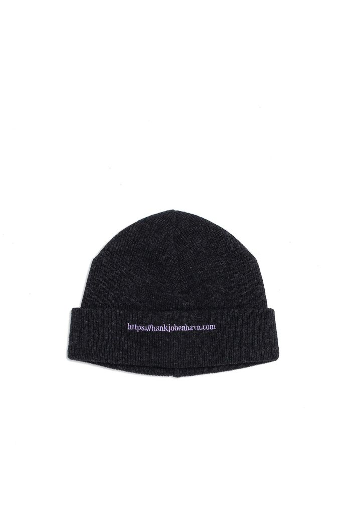 Han top beanie A-120018, BLACK