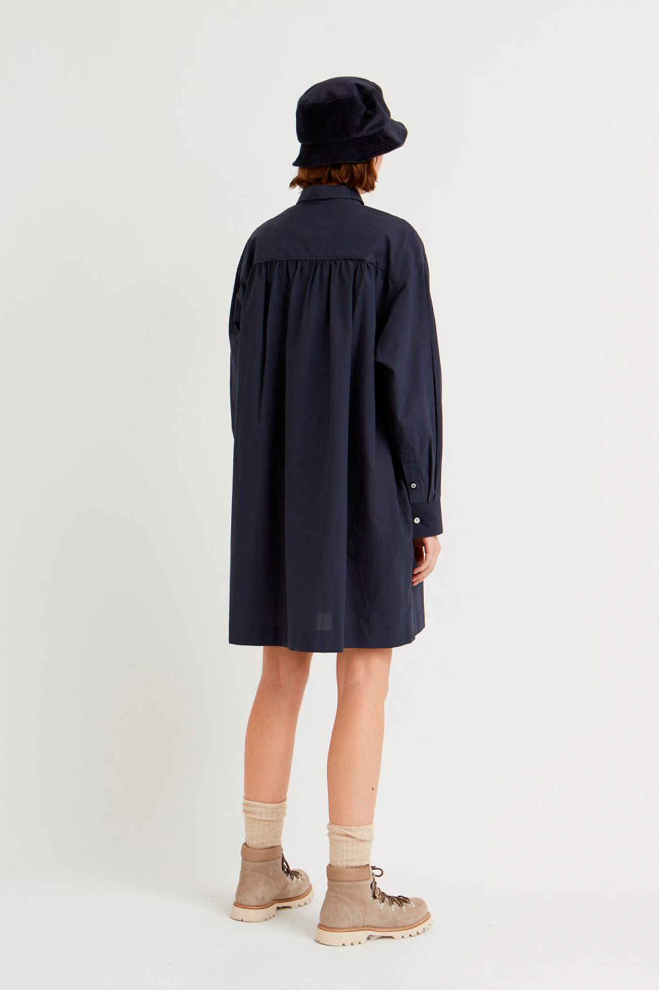 Janica dress 11931111-1167, NAVY
