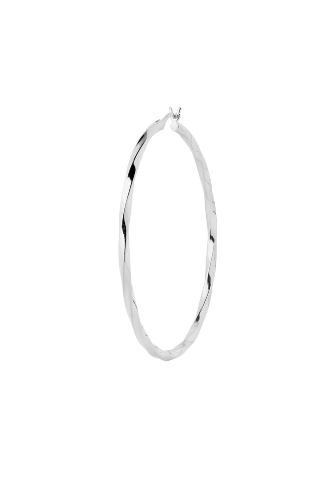 Francisca Hoop Large 100660, SILVER HP