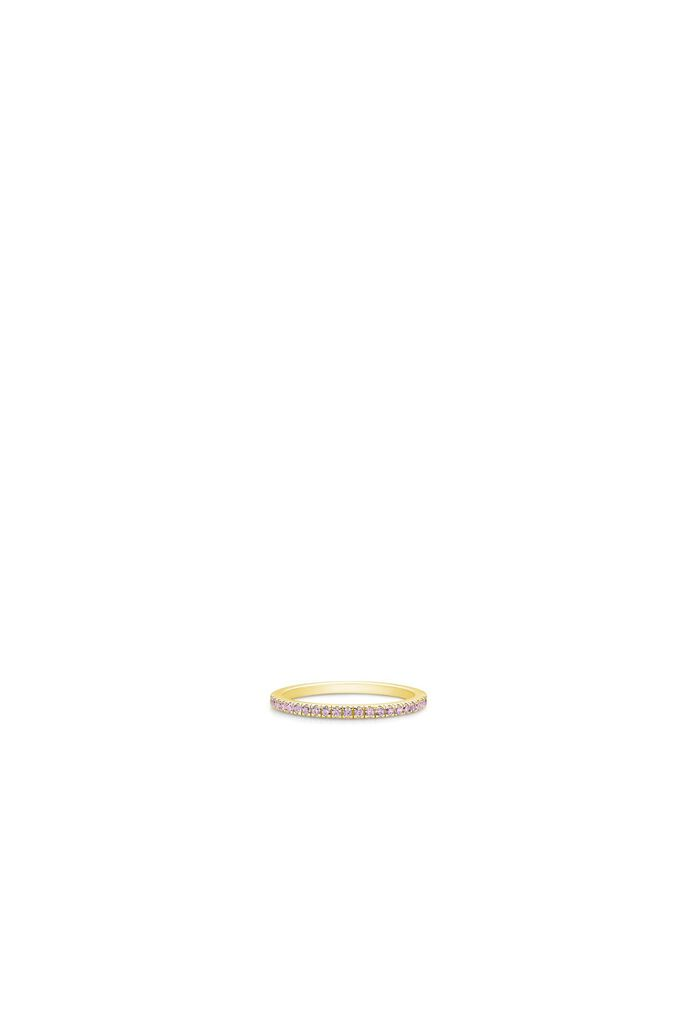Simplicity ring IDR012GD, GOLD/PINK