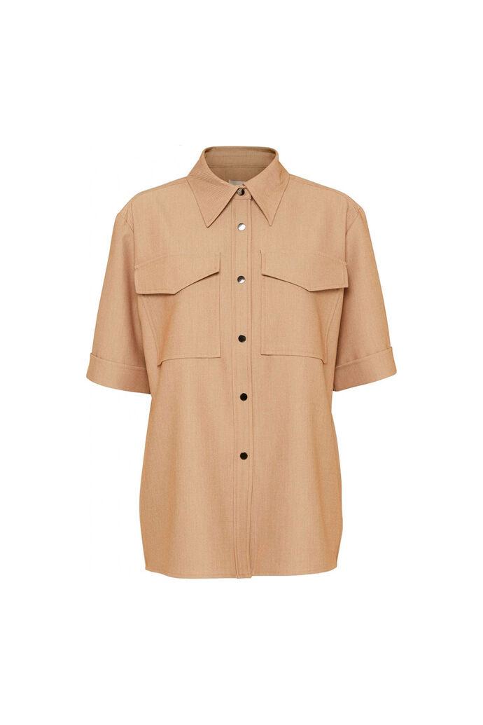 Cassie ss shirt 11861526, BEIGE