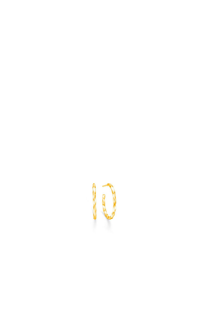 Unicorn medium hoops IDH23GD, GOLD