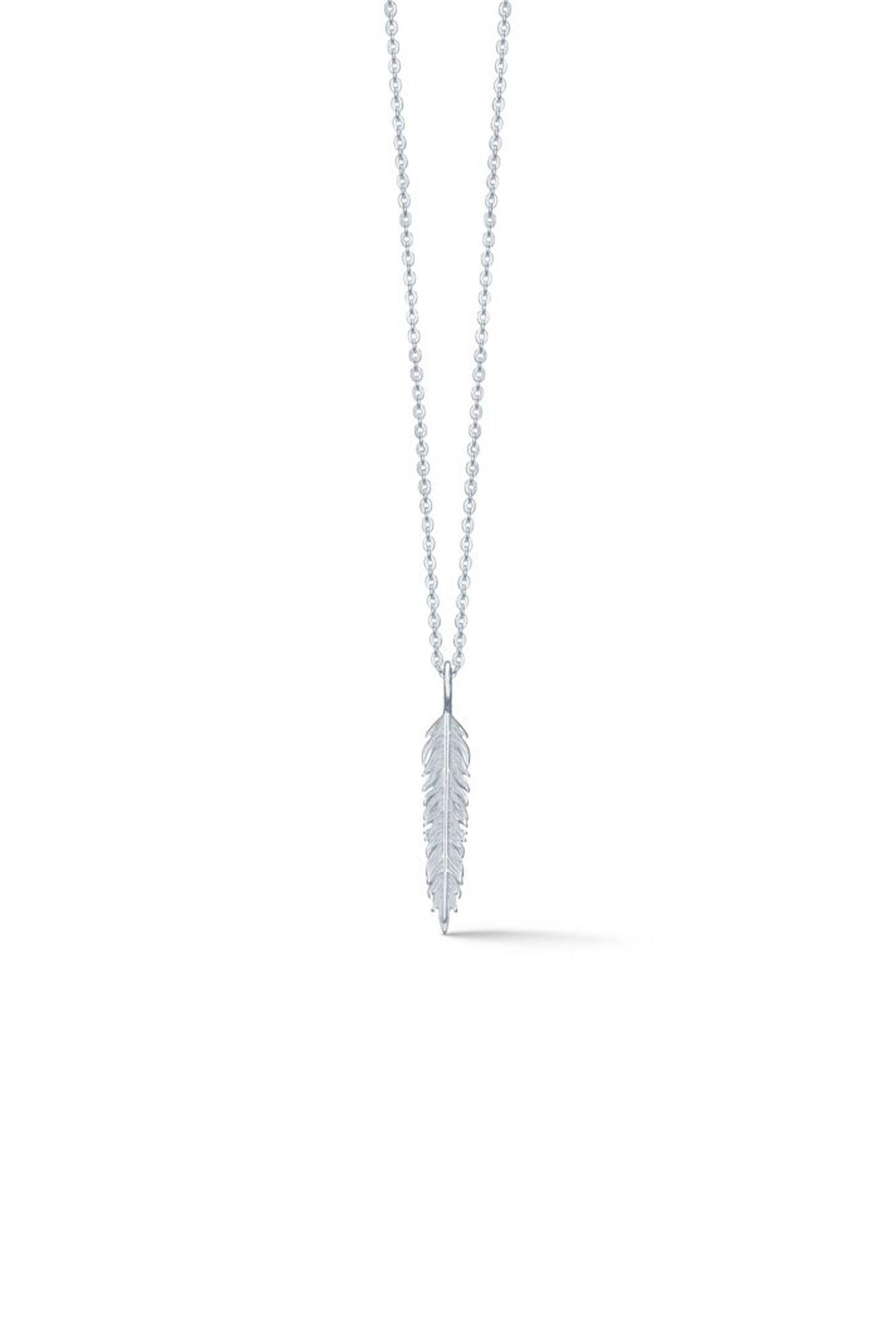 Raven necklace IDN010RH, RHODIUM