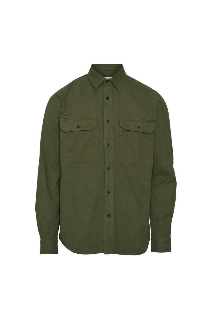 Long sleeve moleskin shirt