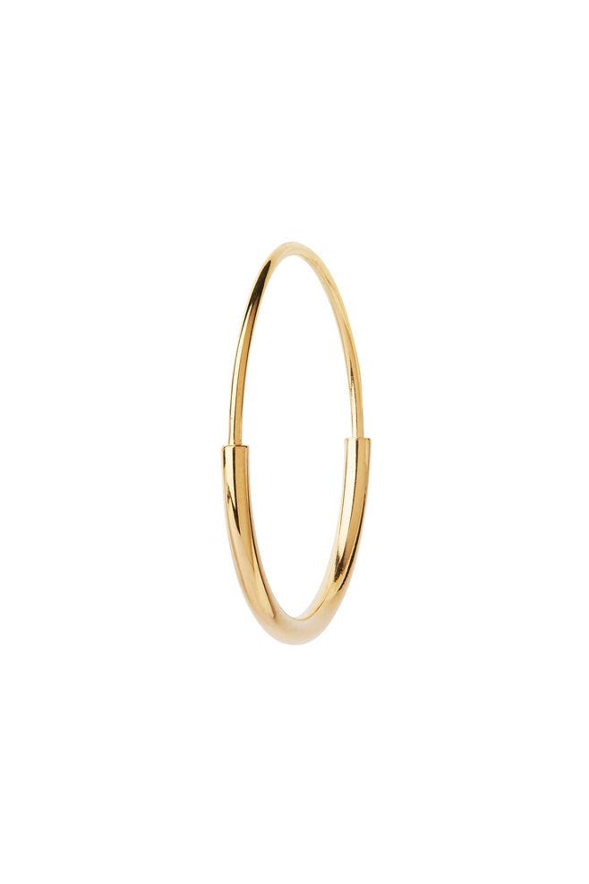 Delicate hoop 22 earring