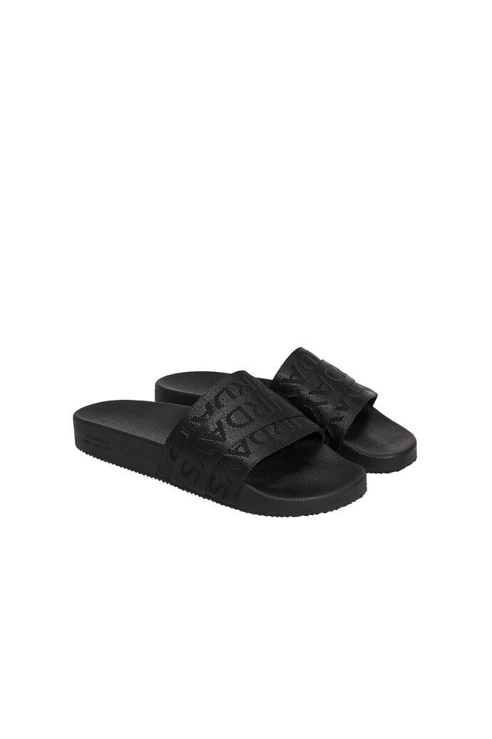Soho sandal, BLACK