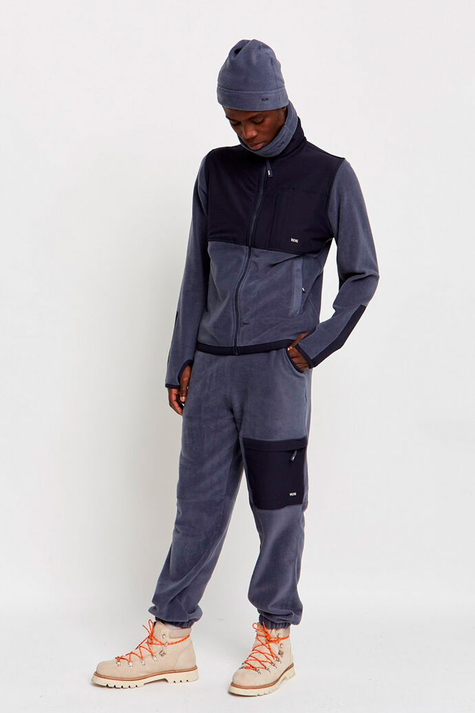 Sigurd trousers 11945007-2467, STEEL BLUE
