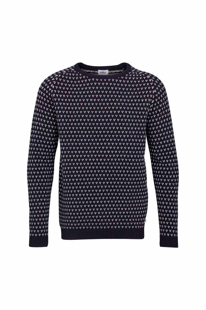 Hugo knit, NAVY/CREAM