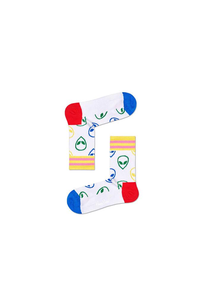 Athletic alien mid high sock