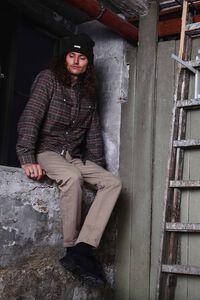 Moon shirt 665, KHAKI/NAVY
