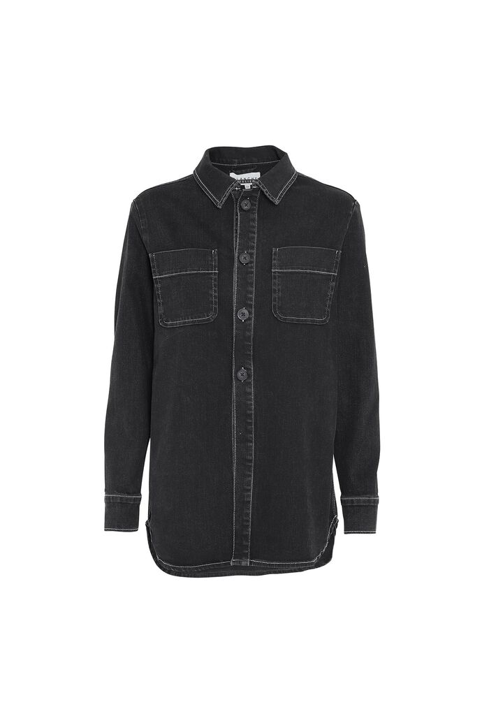 Anura shirt, UN BLACK DENIM