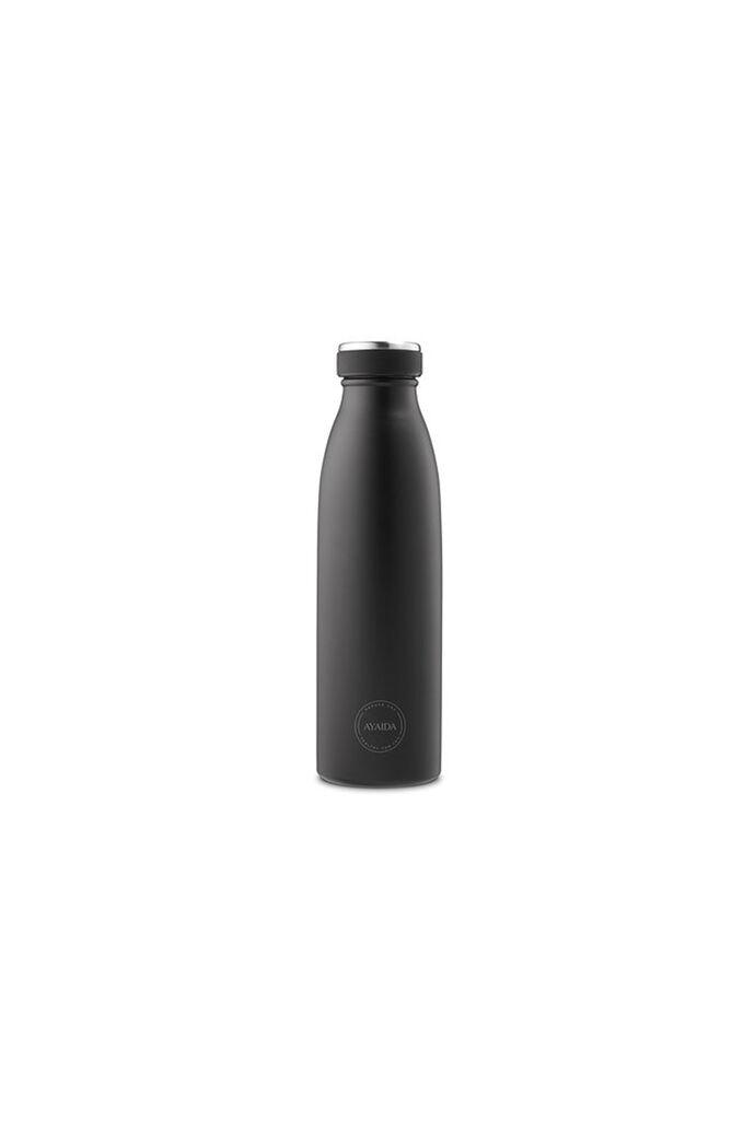 Matte black bottle