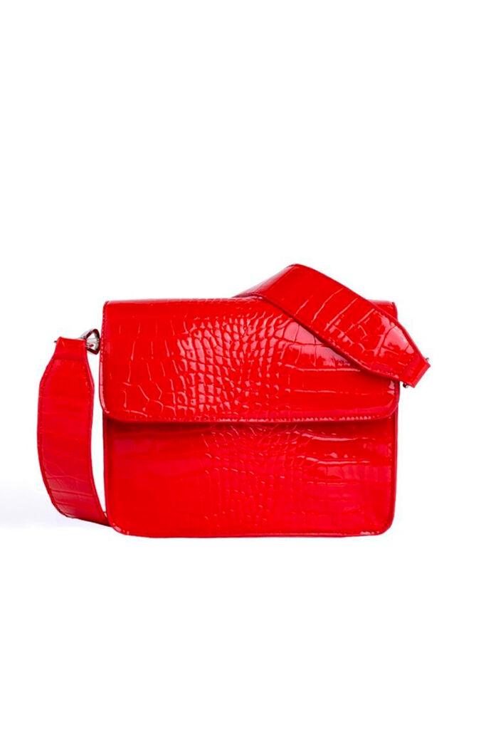 Cayman Shiny Strap H1021, RED