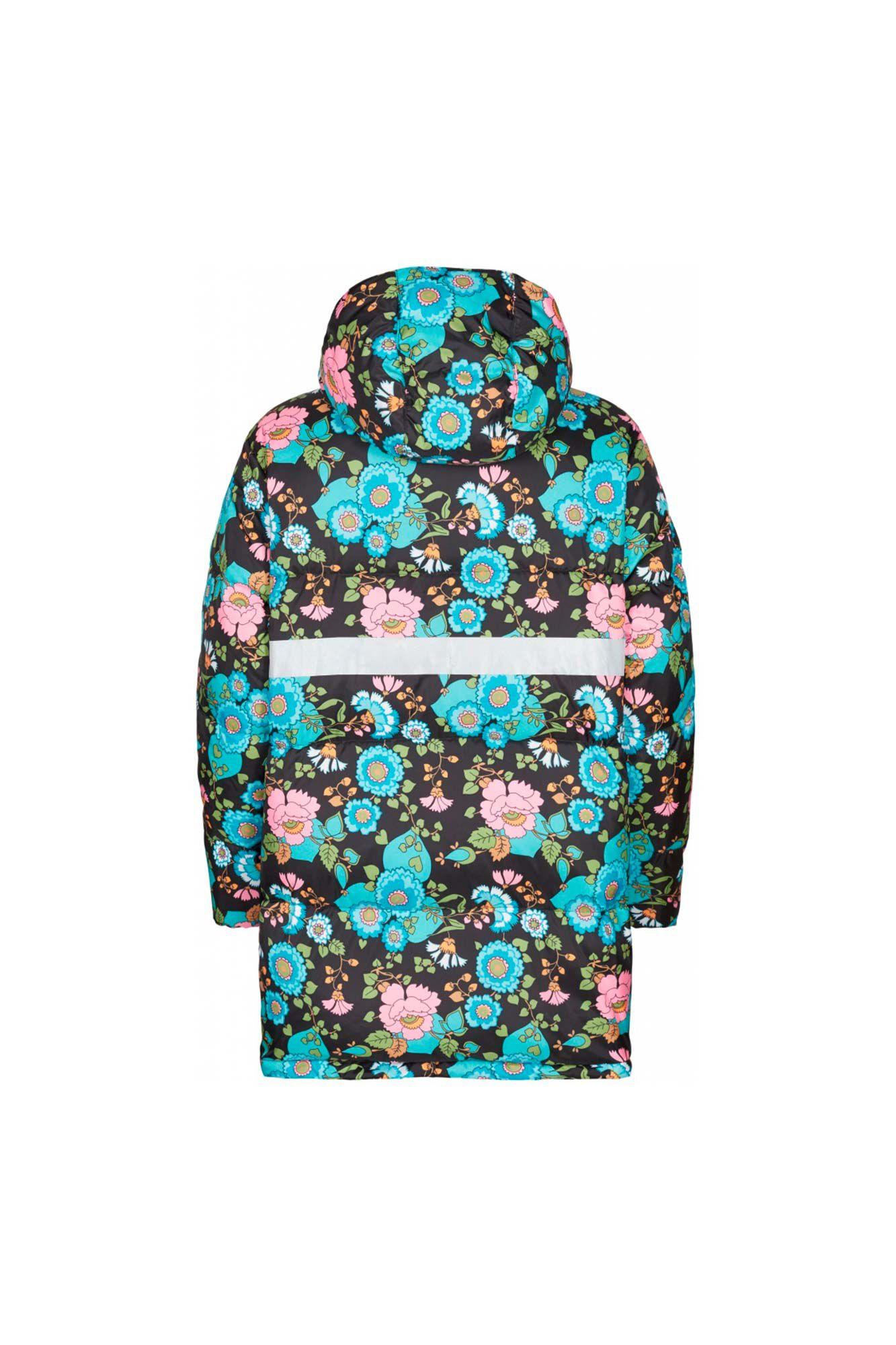 Grow up jacket FA900002-1, BLACK FLOWER