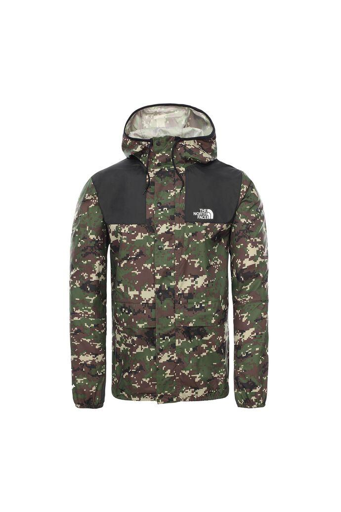1985 seasonal mountain jacket, ENGLSG GRN UX DIGICAM PRT