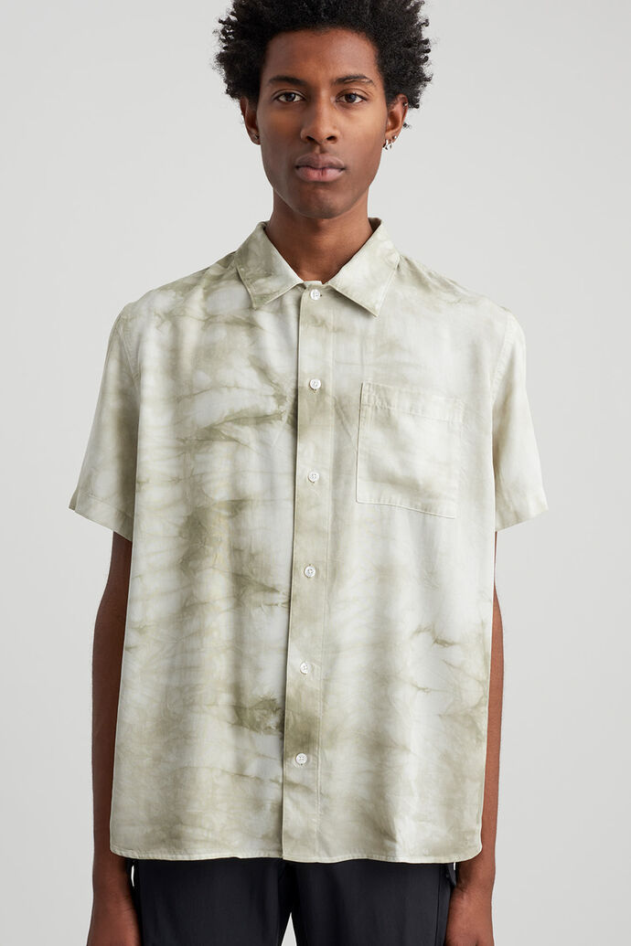 Alpons mineral wash s/s shirt
