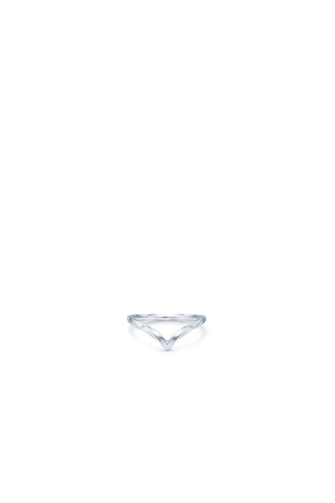Unicorn v-ring IDR005RH, RHODIUM