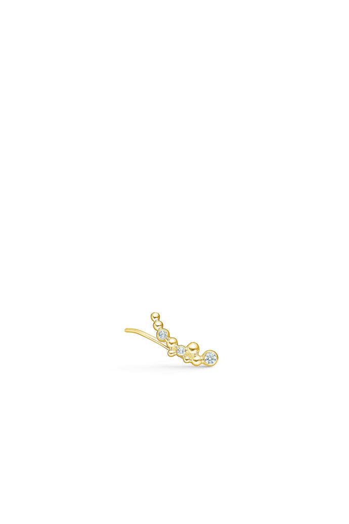 Pacific single earring, GOLD/RIGHT