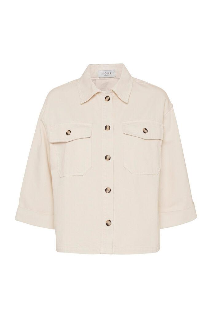 Hannah denim shirt 11861548, OFFWHITE