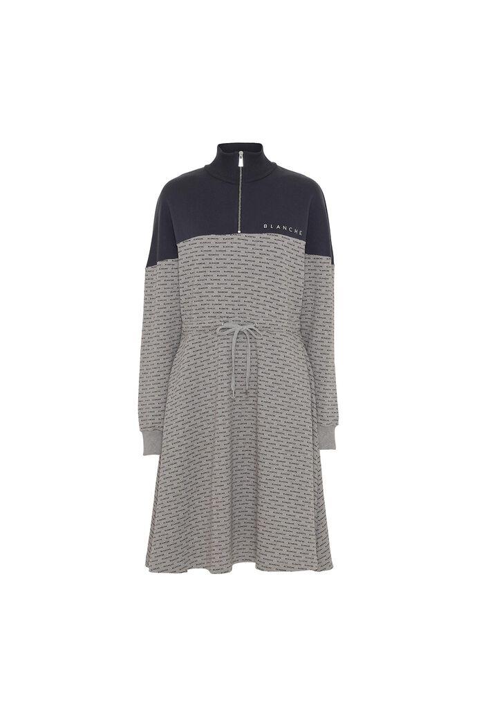 Nanne dress, LIGHT GREY MELANG