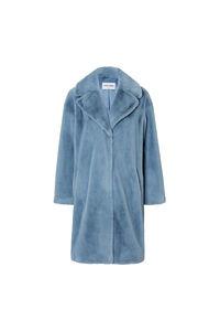 Camille coat 60664-8950, STEEL BLUE