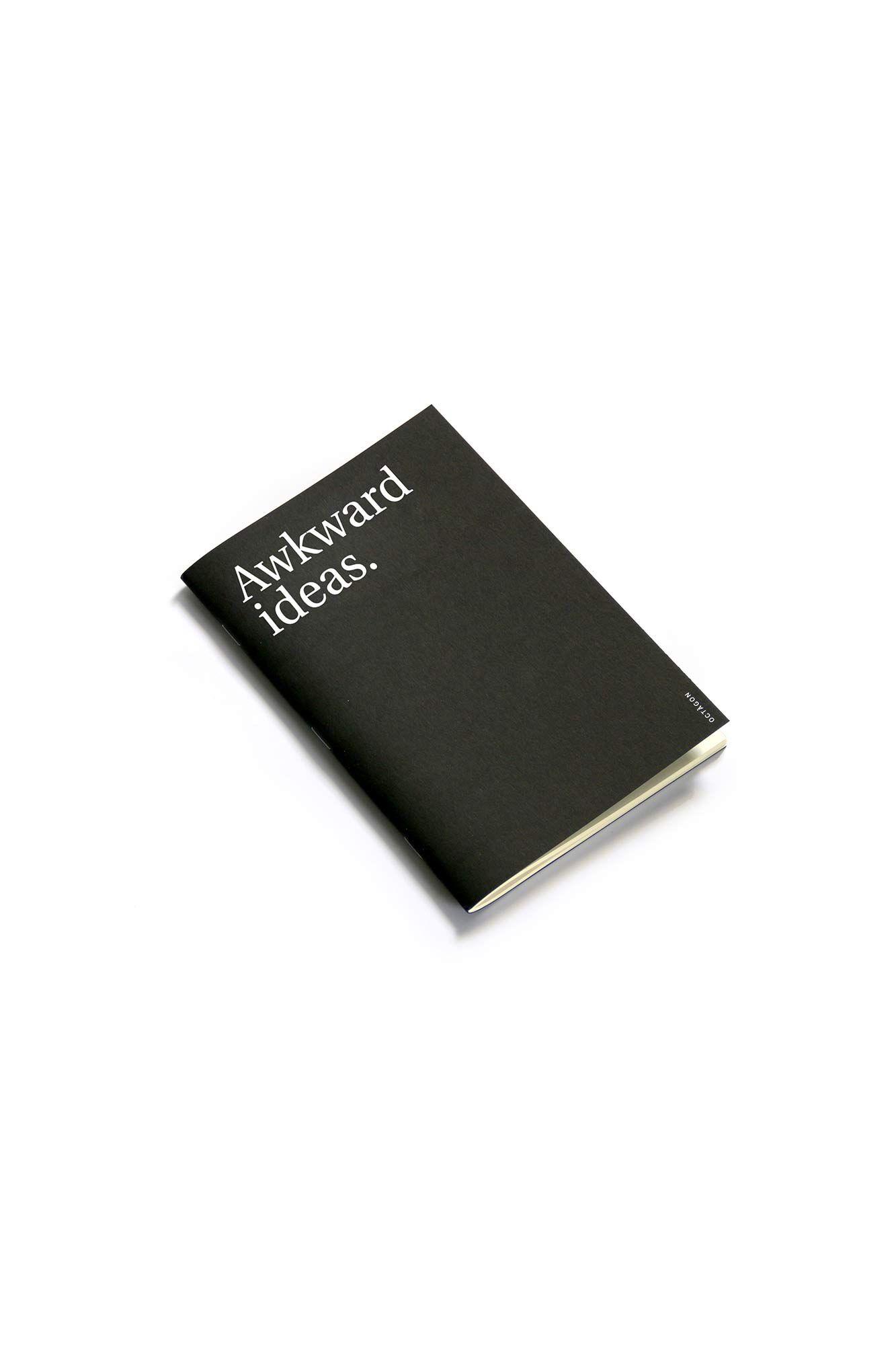 Akward ideas notebook 5, BLACK