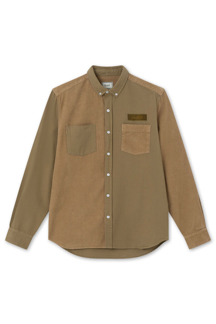 Claw shirt, OLIVE