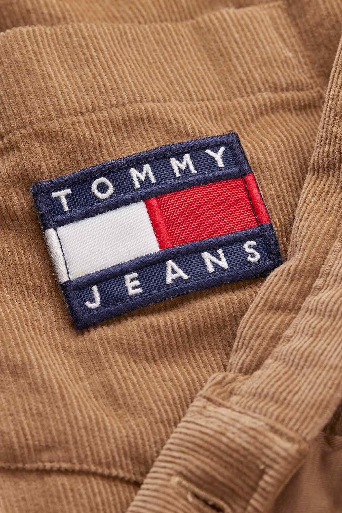 TJM cord shirt DM0DM07131, TIGERS EYE