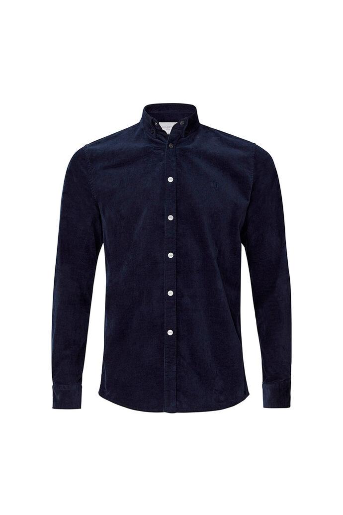 Felix corduroy shirt LDM410036, DARK NAVY
