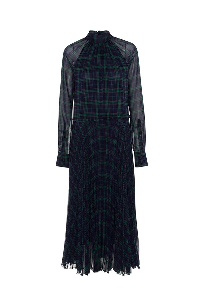 Nima long dress 3360692, TARTAN