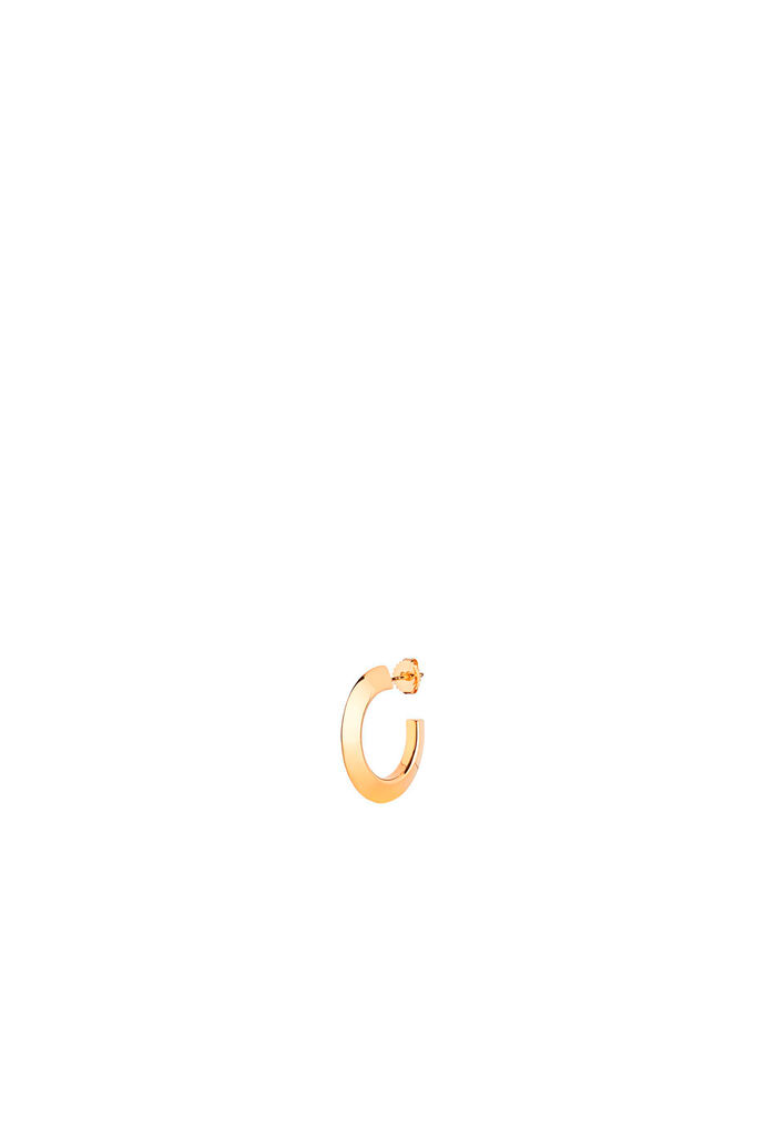Else Hoop Small Earring, GOLD HP