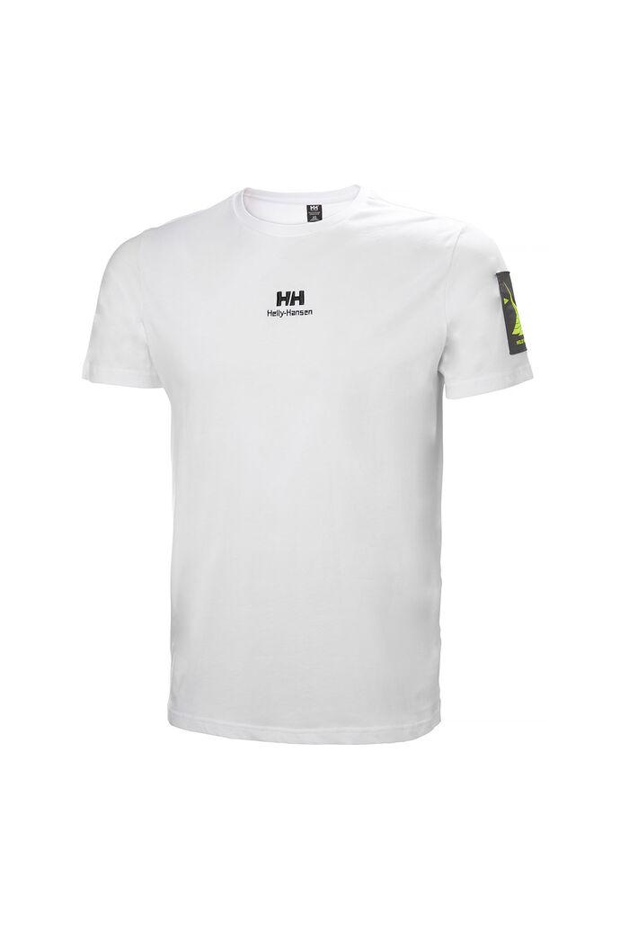 Yu twin logo t-shirt 53391, WHITE