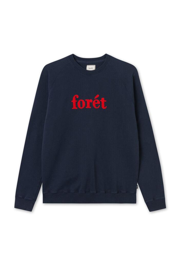 Spruce sweatshirt F008, BLUE/RED