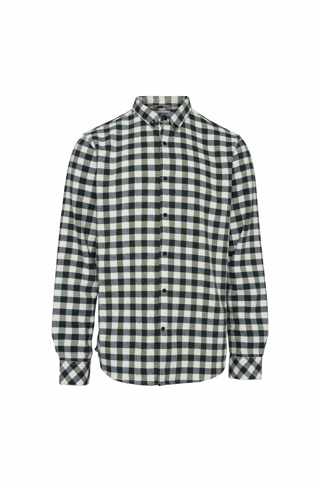 Fishbone checked flannel 90757