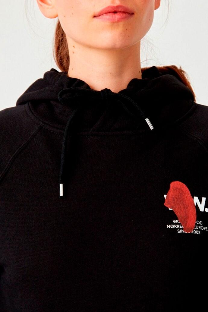 Lara hoodie 12012409-2474, BLACK
