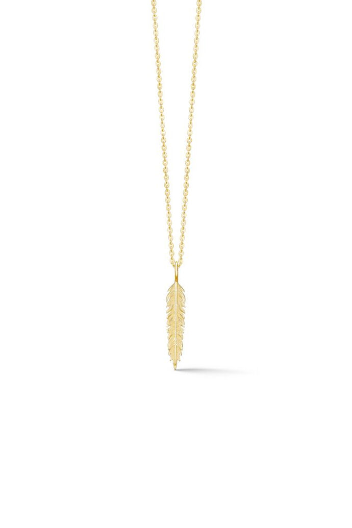 Raven necklace ID010GD, GOLD