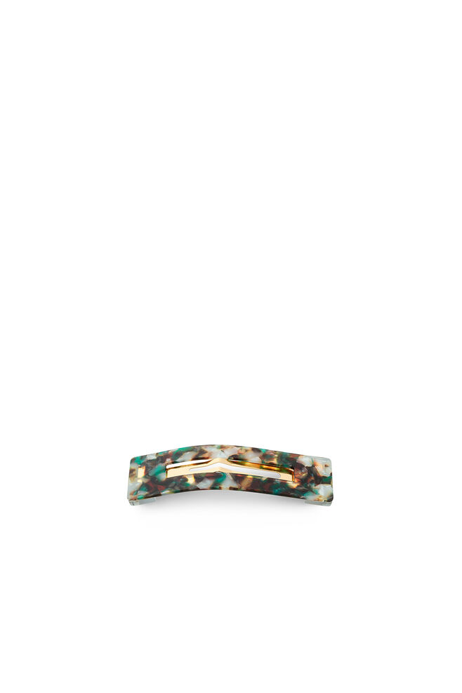 Amalie clip, GREEN/GOLD