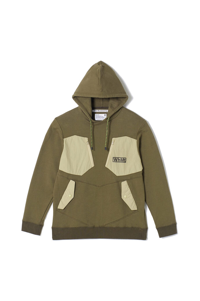 Hooded parka WM1973512, KHAKI KHAK