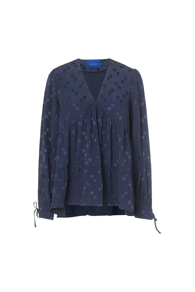 Peggy blouse 05170313, NAVY