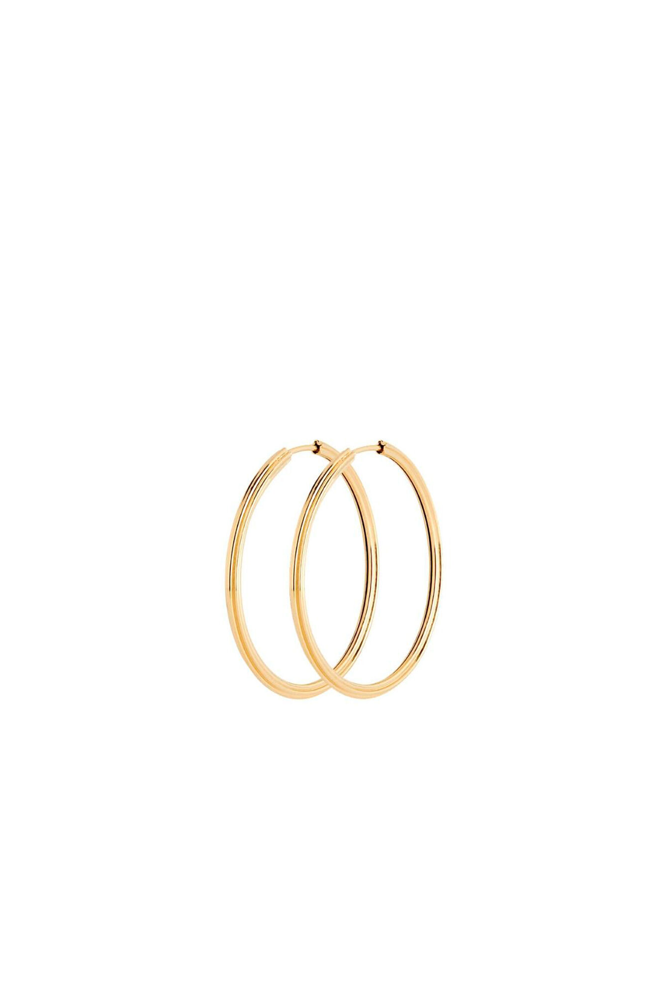 Sunset hoop 35 100724YG, GOLD HP