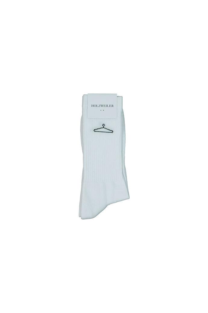 Hanger sock, WHITE