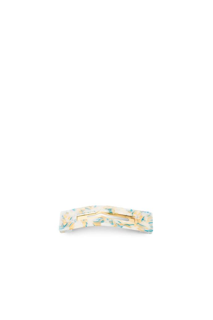 Amalie clip, WHITE/GOLD