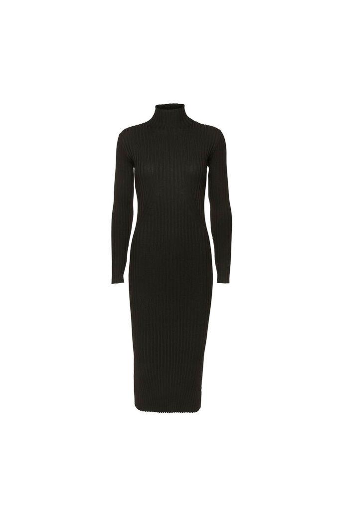 Karlina knit dress 11861016, BLACK