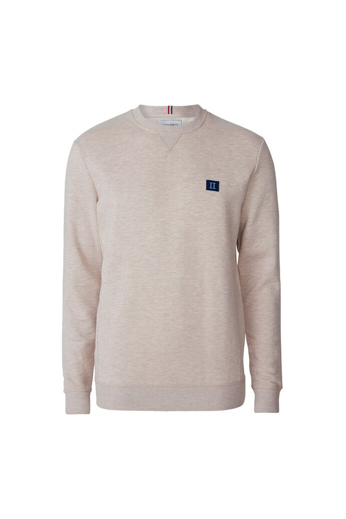 Piece sweat LDM200041, LIGHT BROWN MELANGE/NAVY LIGHT