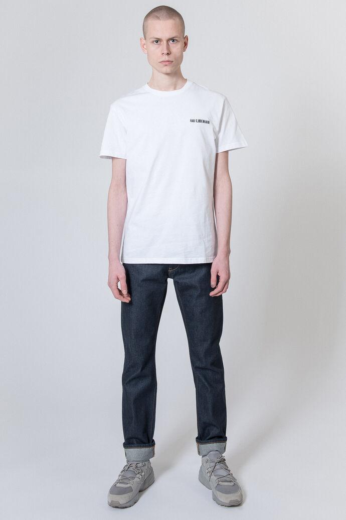 Casual Tee M-20001, WHITE LOGO