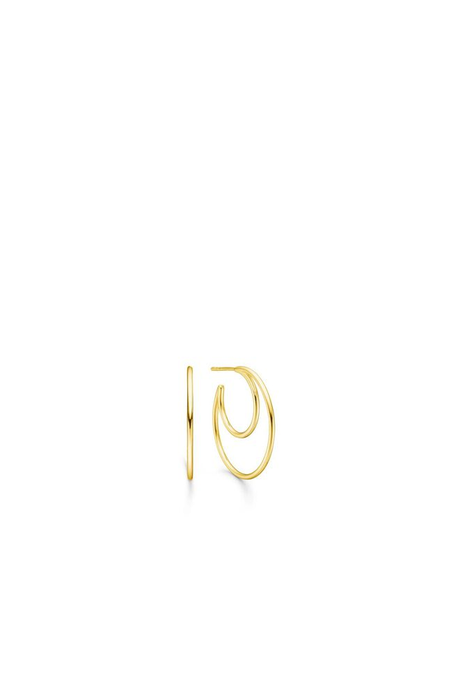 Sphere hoops IDH019GD, GOLD