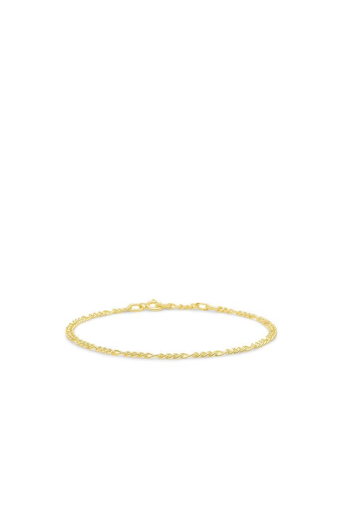 Figaro chain bracelet, GOLD
